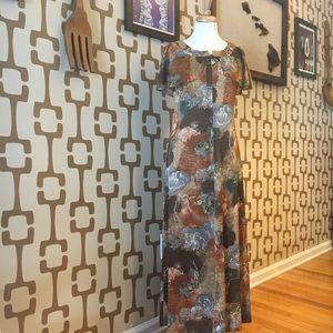 Dresses & Skirts - Vintage Hawaiian dress in beautiful browns